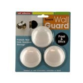 72 of Self-Adhesive Doorknob Wall Guard Set