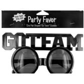 144 of Go Team Shaped Party Favor Glasses