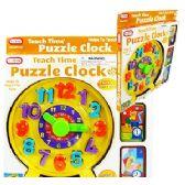 16 of TEACH TIME PUZZLE CLOCKS.