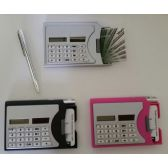 48 of Calculator with Business Card Dispenser & Pen