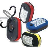 36 of 27-LED WORK LIGHTS WITH HOOK & MAGNET.