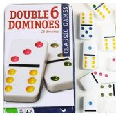 12 of DOUBLE 6 DOMINOES SETS