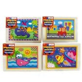 24 of WOODEN JIGSAW PUZZLES