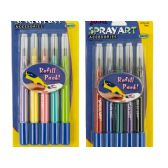 144 of Spray Art Airbrush Pen Refill Cartridges