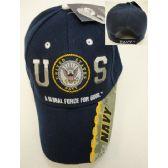 24 of Licensed US Navy Hat [Navy/Logo]