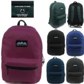 24 of ARCTIC STAR 17 INCH BACKPACK ASSORTED COLORS