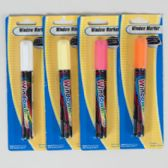 72 of Marker Window/car 1pk 4ast Clrs 3 Neons/1 White-blister Card 0.176oz