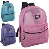 24 of Trailmaker 17 inch Mesh Backpack - Girls