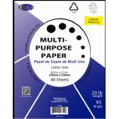 60 of Multi-Purpose Paper, 80 sheets
