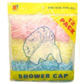 72 of 12 Piece Shower Caps