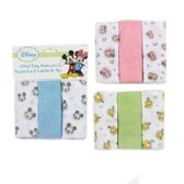 72 of Disney Terry Washcloth- 3 Pack