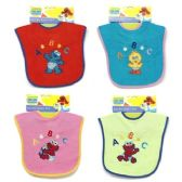 72 of Sesame Street Baby Bibs in Assorted Colors