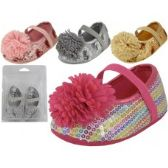 48 of Baby Sequin Shoes w/Bow