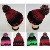 48 of Alabama Knitted Hat with Pom Pom