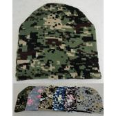 24 of Digital Camo Knit Beanie Hat