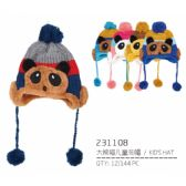 72 of Assorted Color Children's Hat
