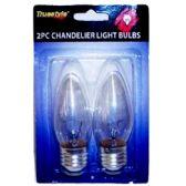 96 of 2PC CHANDELIER LIGHT BULBS NARROW BASE