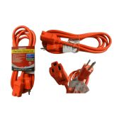 24 of 8 Foot Outdoor Extension Cord