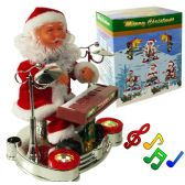 12 of Piano Playing Santa Claus With Lights And Muisc