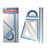 96 of Geometry Ruler 4 Pcs/Set