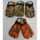 24 of Men's Hardwood Camo Snow Gloves