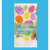 48 of PLASTIC TABLE COVER 54 X 108 INCH EASTER