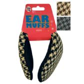 48 of WOMEN'S EAR MUFF KNITTED ASSORTED COLORS