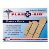 144 of 100 Ct Doctor's Aid Adhesive Bandages