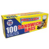 48 of 100 COUNT SANDWICH BAGS