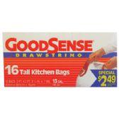9 of GOODSENSE TALL KITCHEN BAGS
