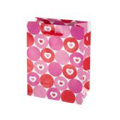 144 of Hearts & Dots Valentine Gift Bag