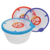 48 of 54 OZ FOOD CONTAINER WITH RUBBER RIM LIDS