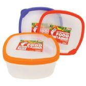48 of 60 OUNCE SQUARE FOOD CONTAINER
