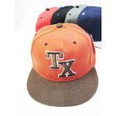 72 of Texas Cap Assorted Colors