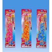 72 of 11 Doll in blister card assorted. dress