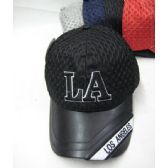 """36 of """"Los Angeles"""" Base Ball Cap With Mesh Top"""