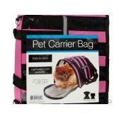 6 of Vented Pet Carrier Bag with Reflective Stripes