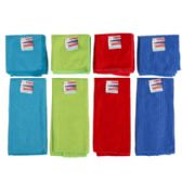48 of Kitchen Textiles Microfiber 2pk 12x12 Dishcloth/15x25 Towel