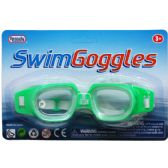 "144 of 6"" SWIMMING GOGGLES IN BLISTER CARD"