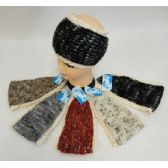 24 of Hand Knitted Ear Band [Antique Lace Around]