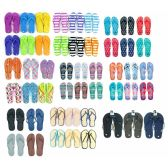 576 of Pallet Deal Assorted Men and Woman Flip Flops