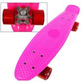 8 of Complete Plastic & Metal Skateboards- Pink