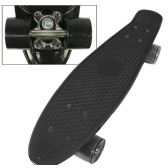 8 of Complete Plastic & Metal Skateboards- Black