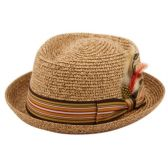 24 of STRAW PORK PIE HATS