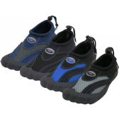 "36 of Wholesale Men's Barefoot ""Wave"" Water Shoes"