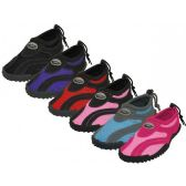 """36 of Wholesale Women's """"Wave"""" Water Shoes"""