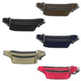 240 of FANNY BAG IN ASSORTED COLORS