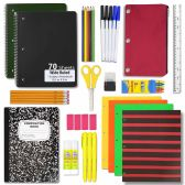 12 of 24 PIECE SCHOOL SUPPLY KIT