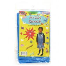 72 of Disposable Children's Artist Smock 4 Pack