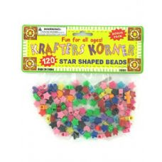 72 of Star shaped crafting beads